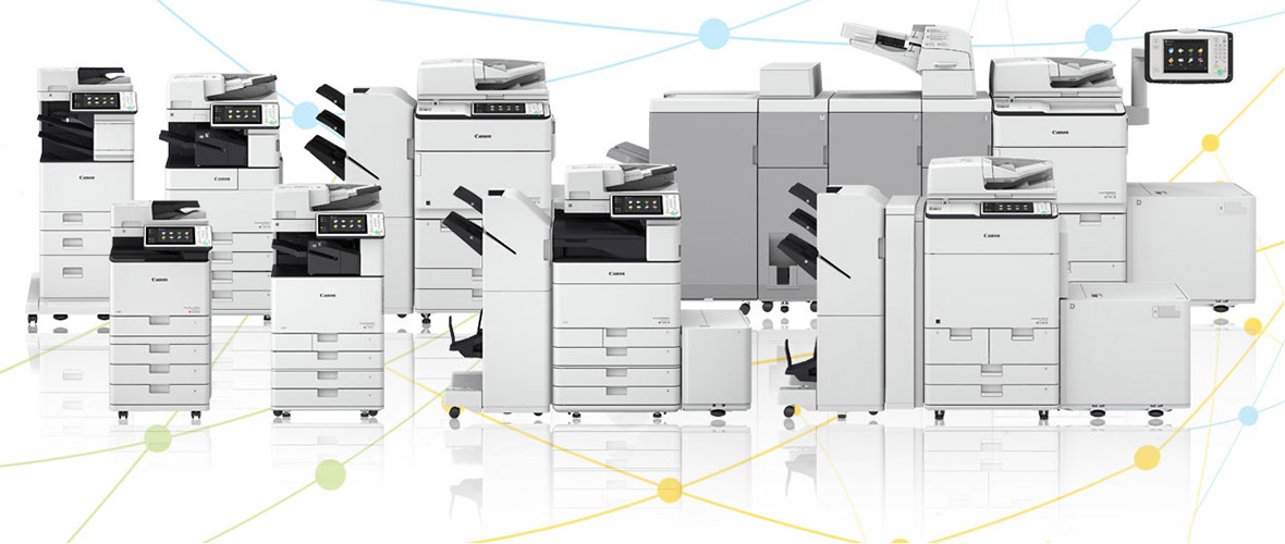 Image of imageRUNNER ADVANCE multifunction printer and copiers