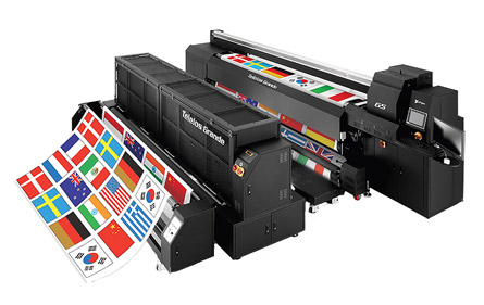 d.gen Teleios Grande G5 Direct-to-Fabric, Textile Printer
