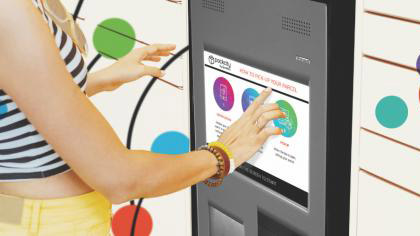 Image of the Intuitive touchscreen interface
