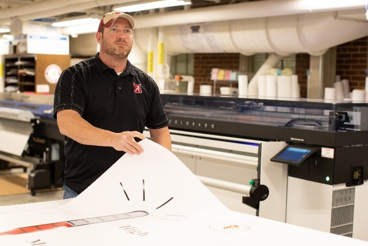 The University of Alabama's first-ever Print Camp