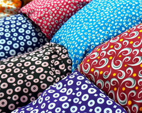 Image of printed on pillows
