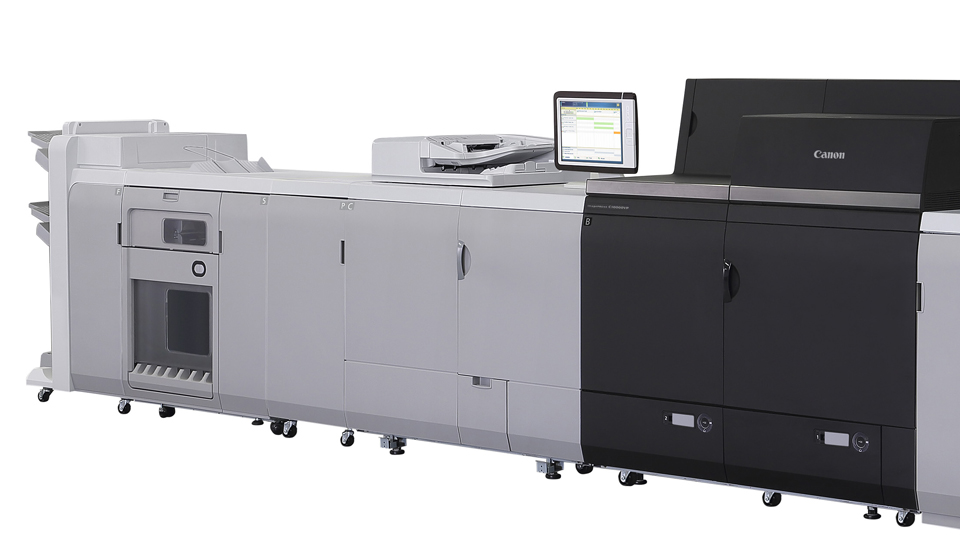 Image of a imagePRESS Cutsheet Color Press
