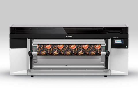 Image of the new Colorado 1650 Roll-to-Roll Wide Format Printer