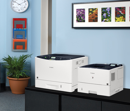 Image of imageRUNNER and imageCLASS Printers