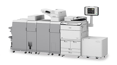 Image of a imageRUNNER ADVANCE DX 8700 Series Printer
