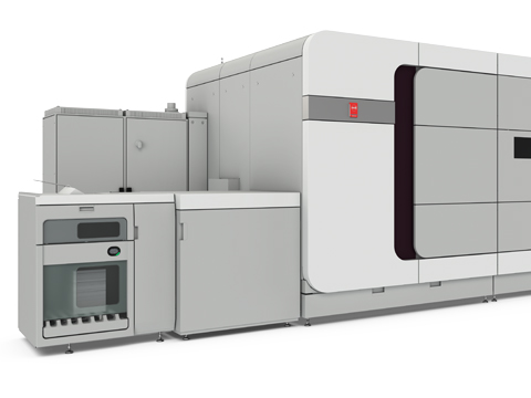 Image of the VarioPrint i-series+ sheet-fed inkjet press